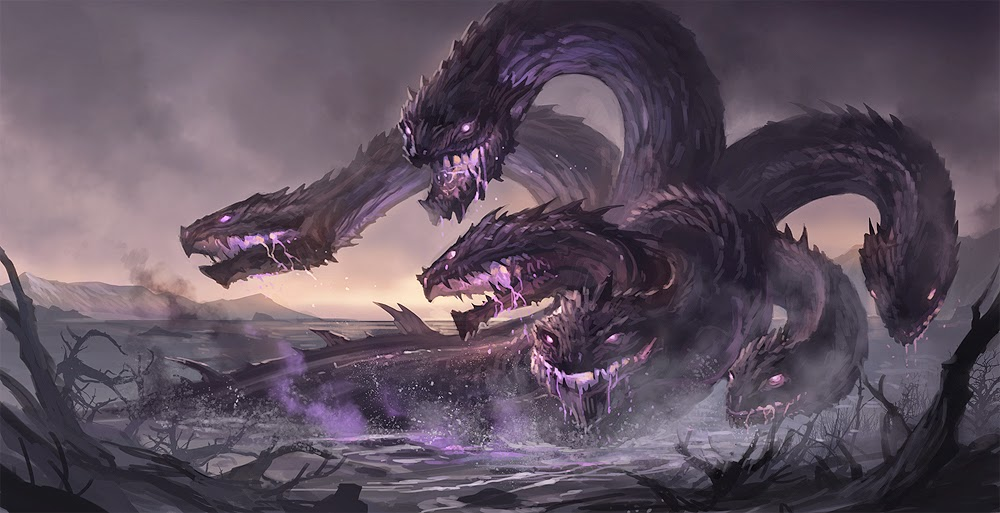 Hydra Monster Facts Fun Fact Lonely Lonely Hydra
