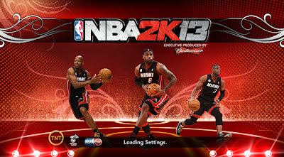 NBA 2K13 Miami Heat Startup Screen Mod