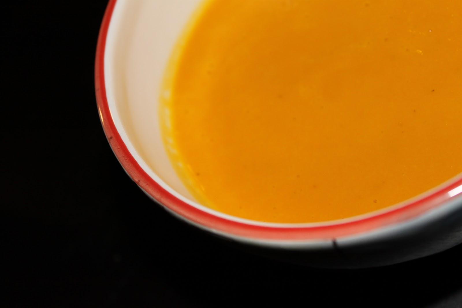 Bibidi bobidi soupe potiron carotte et lait de coco - Soupe potiron lait de coco curry ...