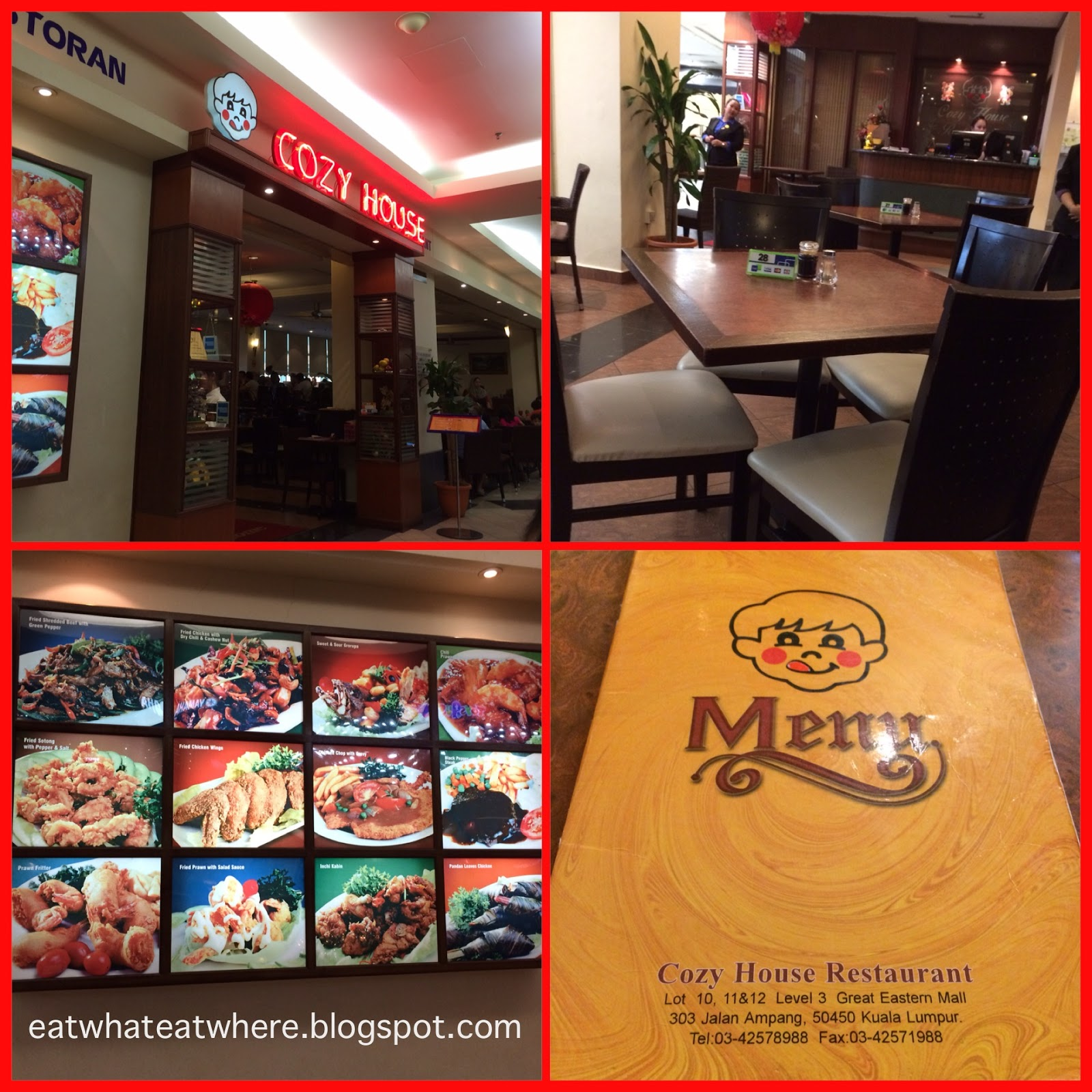 eat what eat where cozy house great eastern mall