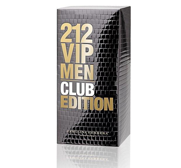 Opakowanie zewnętrze perfum Carolina Herrera 212 VIP Men Club