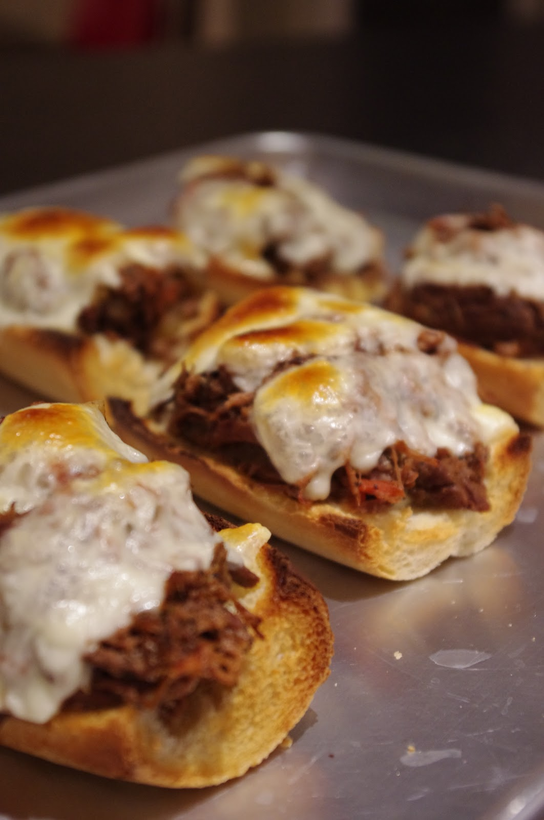 Let's Eat!: Slow-Cooker Italian Beef Sandwiches