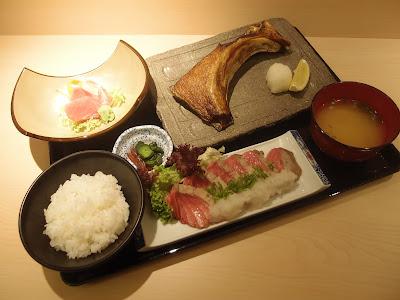 Hon Maguro Lunch Set