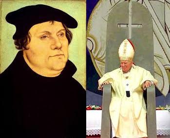 El Anticristo promovió a los protestantes.