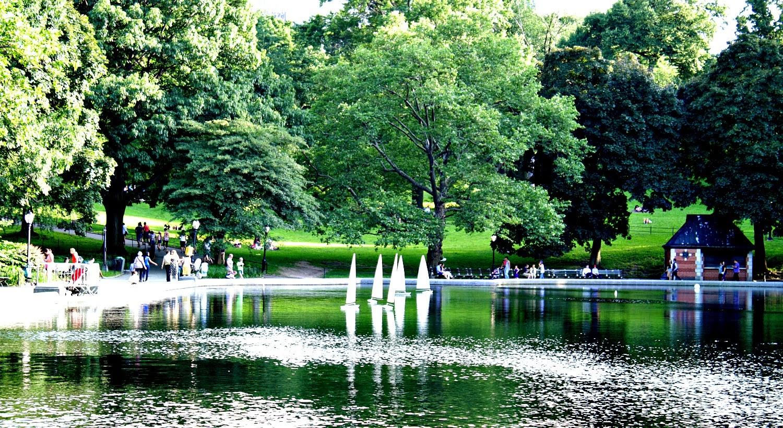 Barquitos de Central Park