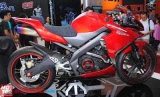 Foto Yamaha Byson Full Fairing