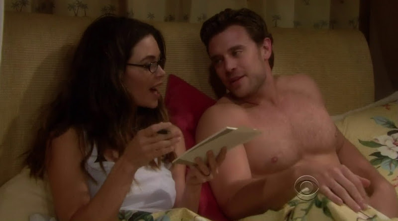 Billy Miller Shirtless in the Young and the Restless 20111227