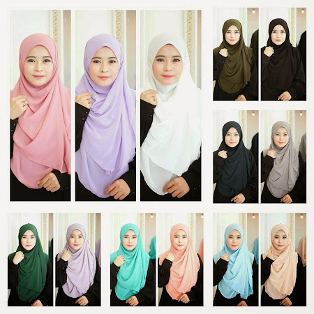 NEW ARRIVAL  Shawl Chiffon Dari Quality Terbaik. Available Ready Stock