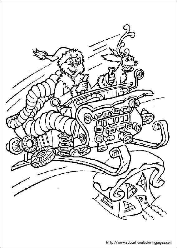 10 Dr Seuss Coloring Pages
