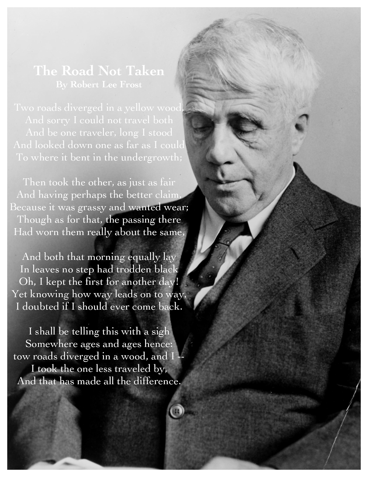 robert frost two look at two