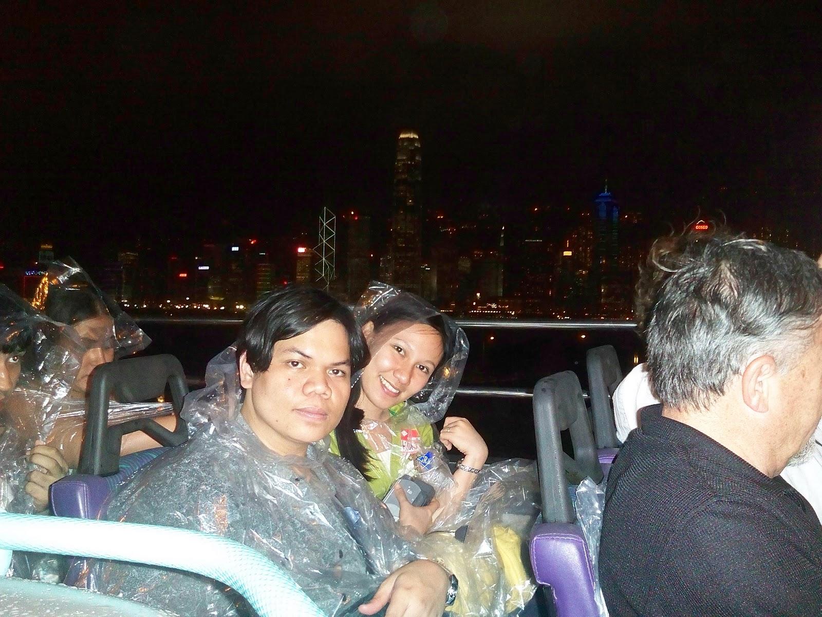 Hong Kong open-top bus