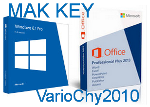 Mak Key Activasi Permanent | Key Windows & Office VL