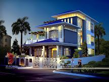 Modern Bungalow House Exterior Design
