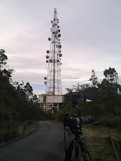 Telekom Tower at Gunung Ulu Kali