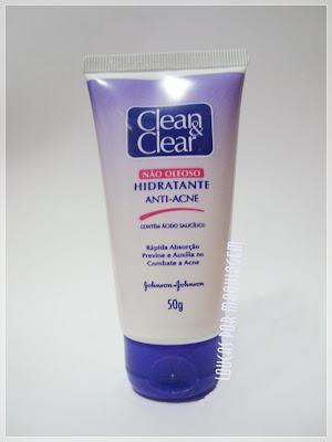 Hidratante anti-acne Clean & Clear