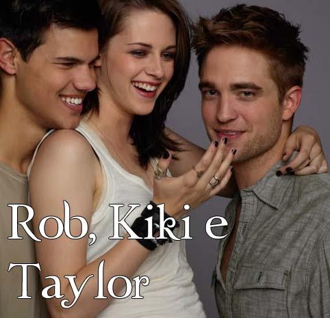Robert, Kristen e Taylor.