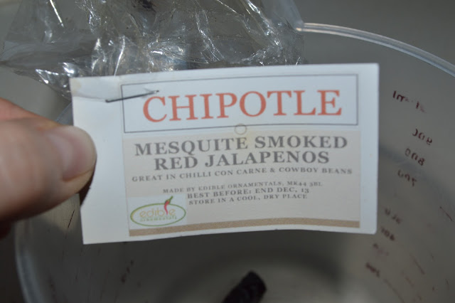 Edible Ornamentals chipotle chilli