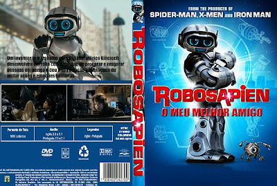 Capa Filme Robosapien O Meu Melhor Amigo