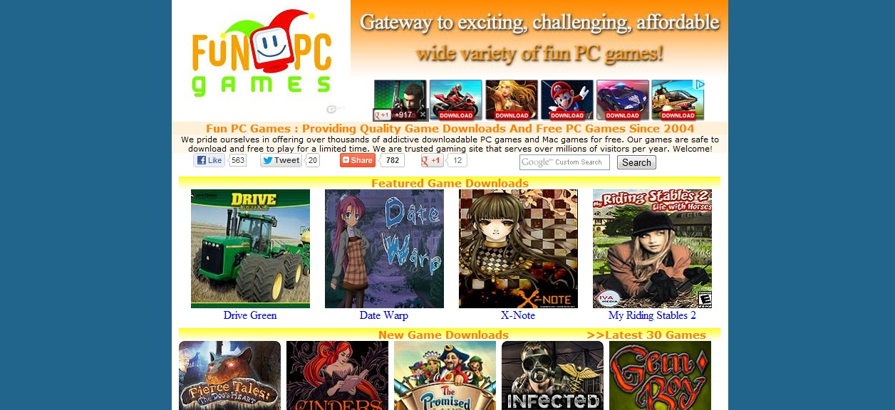 Free download games for pc full version 2012 calendar