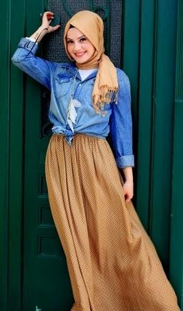 Hijab Fashion Casual Tren