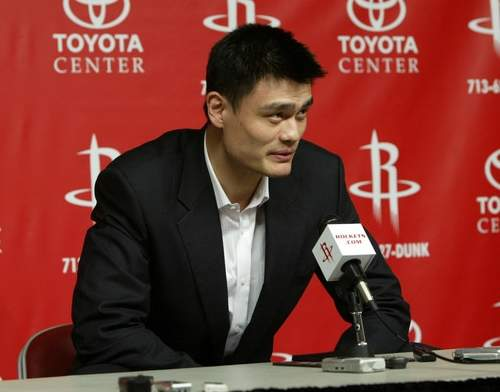 Yao Ming ended his career