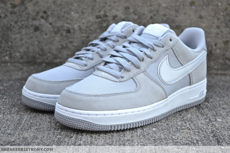 nike air force 1 wolf grey\/white pure