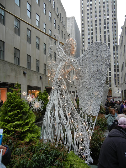 Rockefeller Center Christmas 2011 Angel Decoration