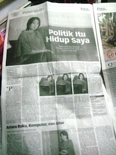 Politik adalah hidup saya