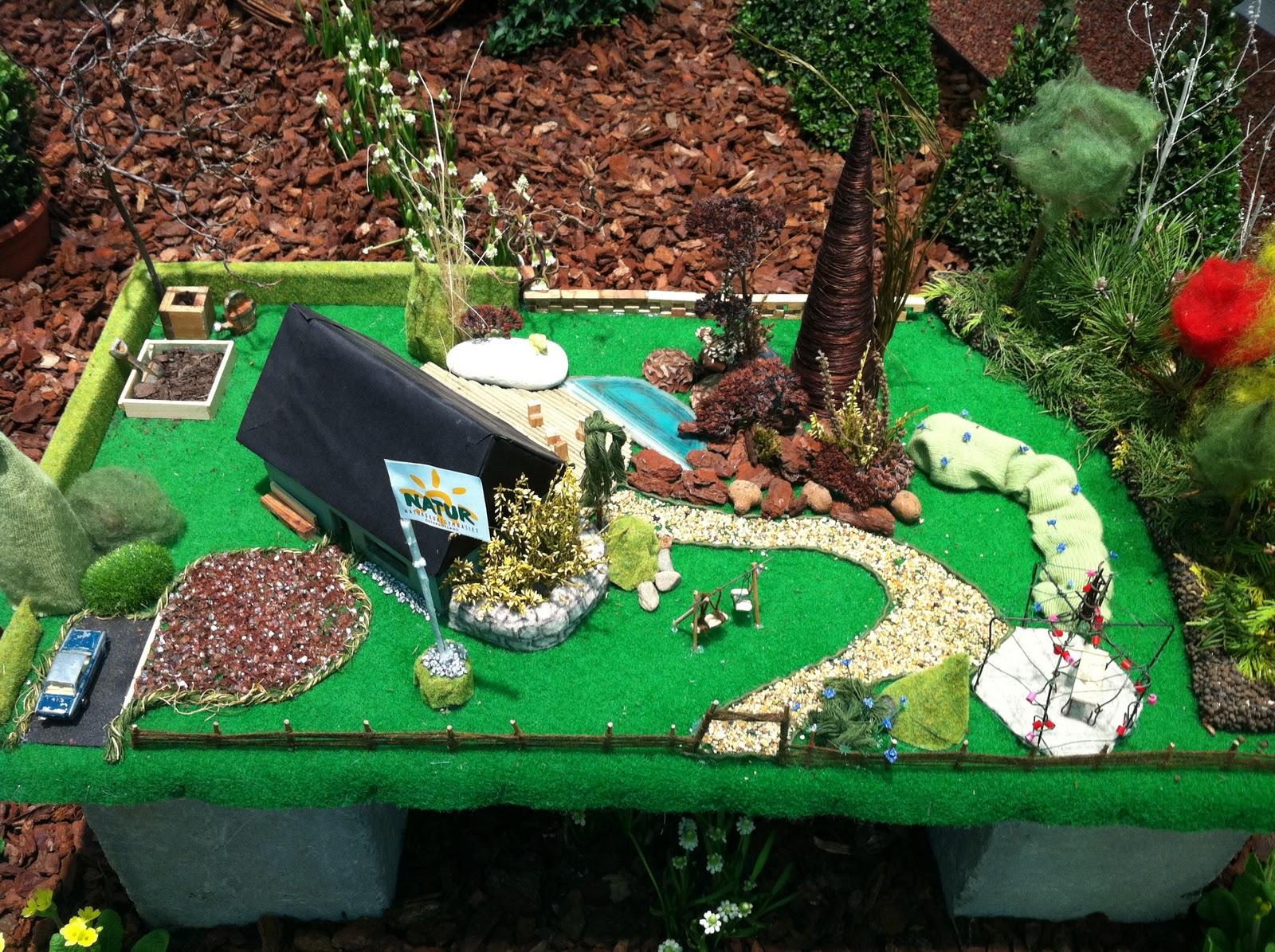 Stilsäkert Evonne: Planera trädgård