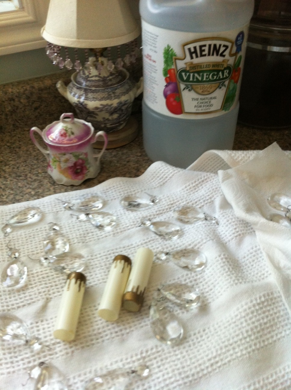 How to clean a crystal chandelier with vinegar gallery how to cleaning chandelier crystals vinegar image collections arubaitofo Gallery