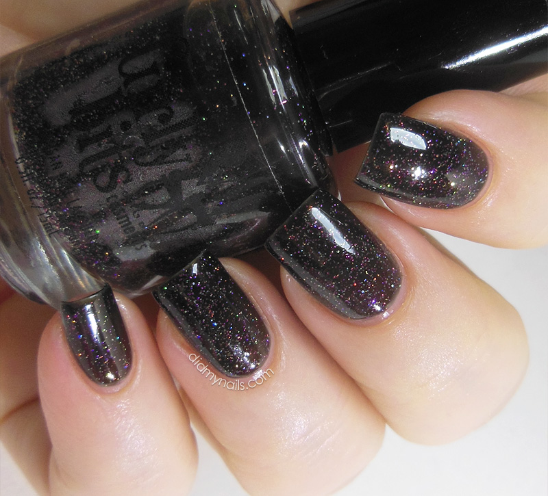 Girly Bits Into the Night swatch