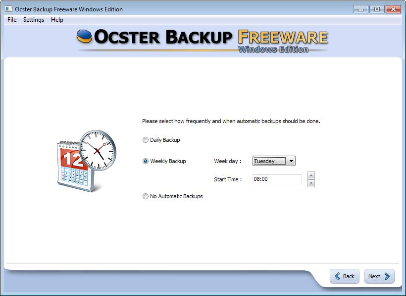 تحميل برنامج Ocster Backup Free لعمل نسخة احتياطية للويندوز والملفات
