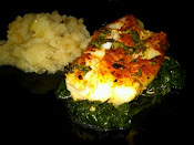 Baked Cod &amp; Mashed Turnips