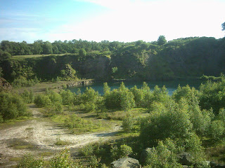 Greenhithe bluewater disused quarry