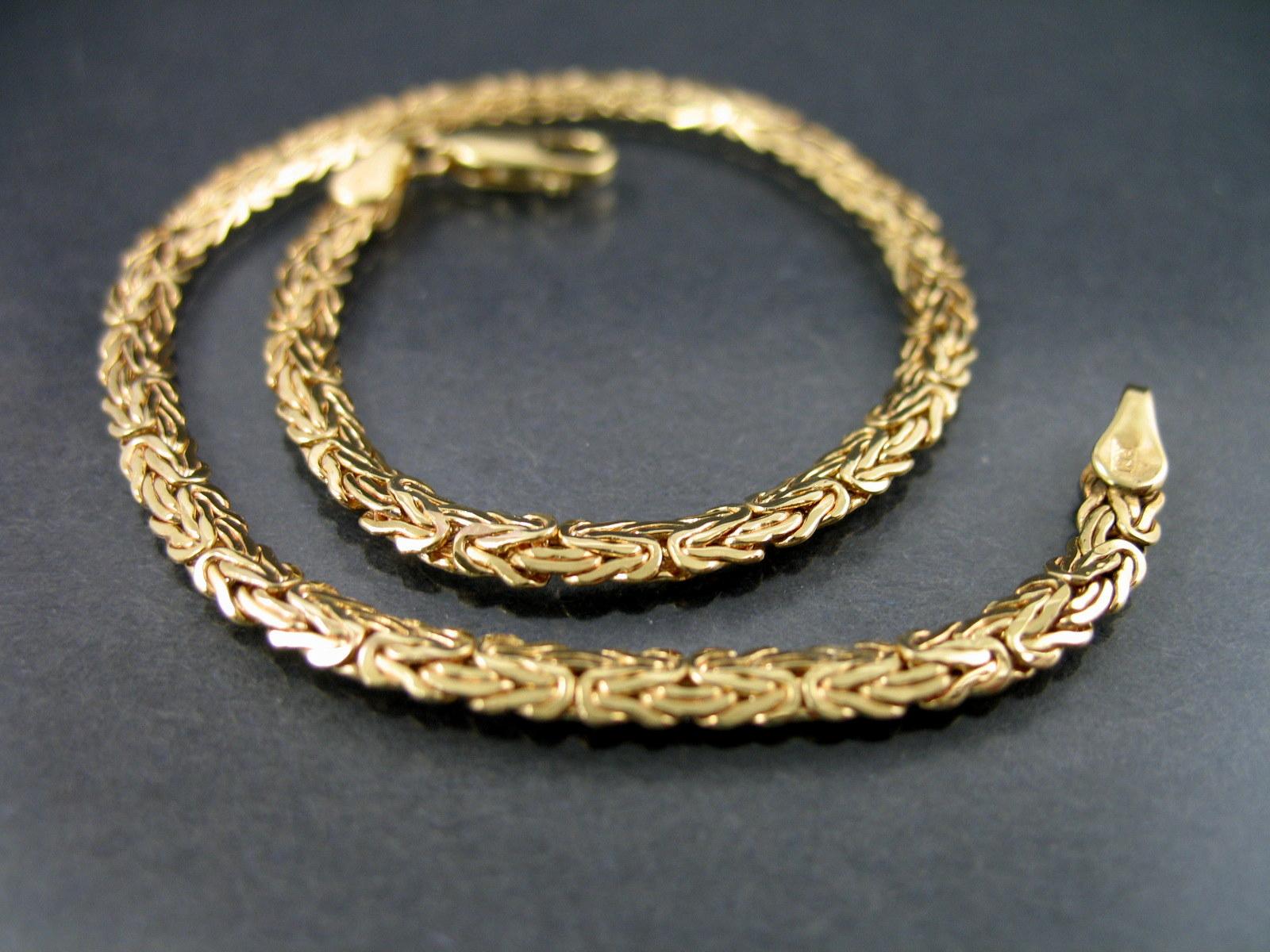 Bracelet Zipper Galleries Byzantine Bracelet Gold