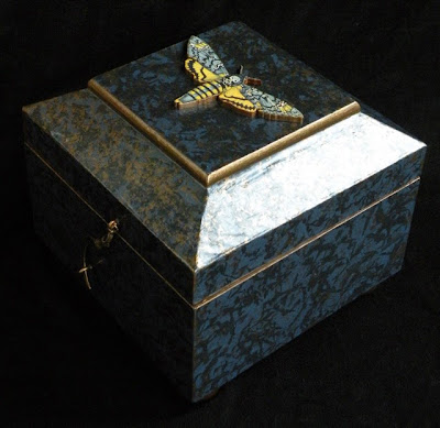 Dark Arts/Conjure Box by Moma Fauna. See our FUNDRAISER AUCTION WEBSITE for details.