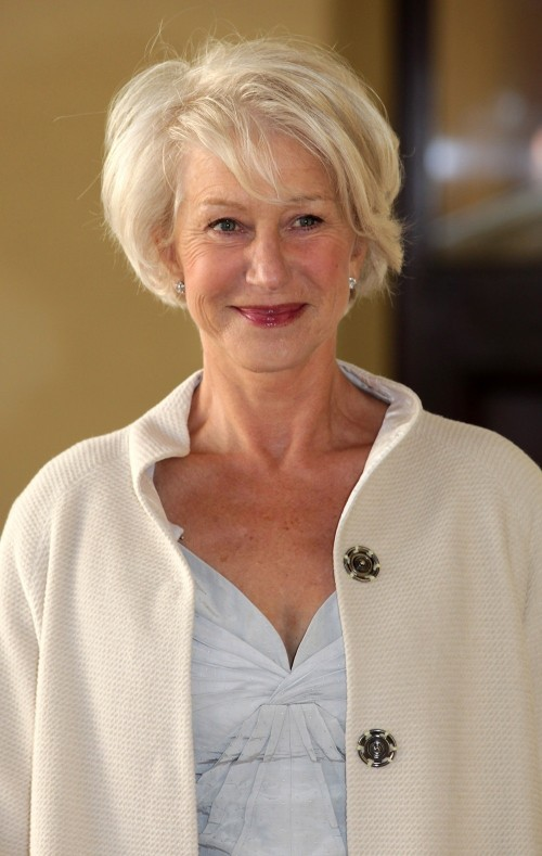 Short Hairstyles on Older Women