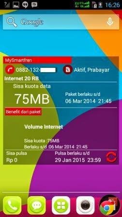 Cara Cek Kuota Paket Internet Smartfren