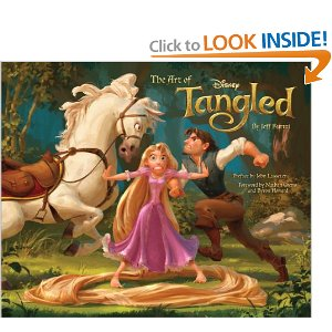 the art of tangled Tangle concept art book review
