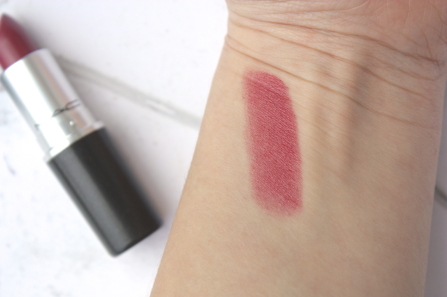 Mac Lipstick Plumful Swatches