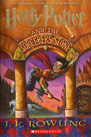 Harry Potter & the Sorcerer's Stone by JK Rowling