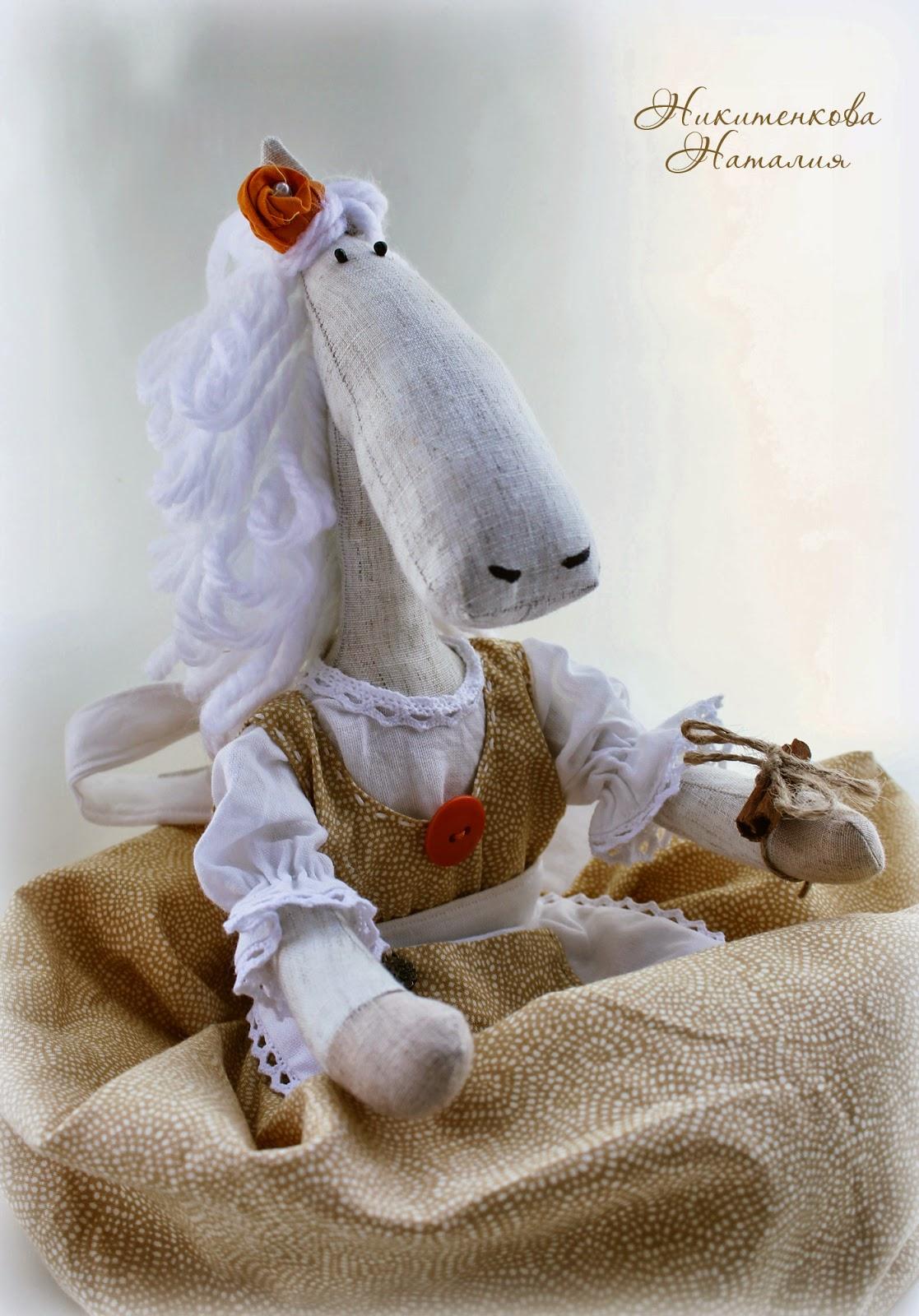 Лошадка пакетница шитье на кухню