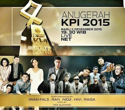 Iwan Fals live show Anugerah KPI 2015