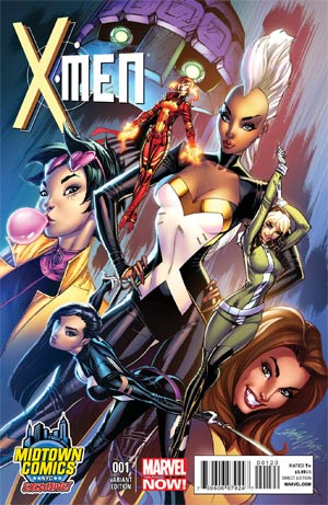 X-MEN #1 MIDTOWN EXCLUSIVE J SCOTT CAMPBELL VAR NOW