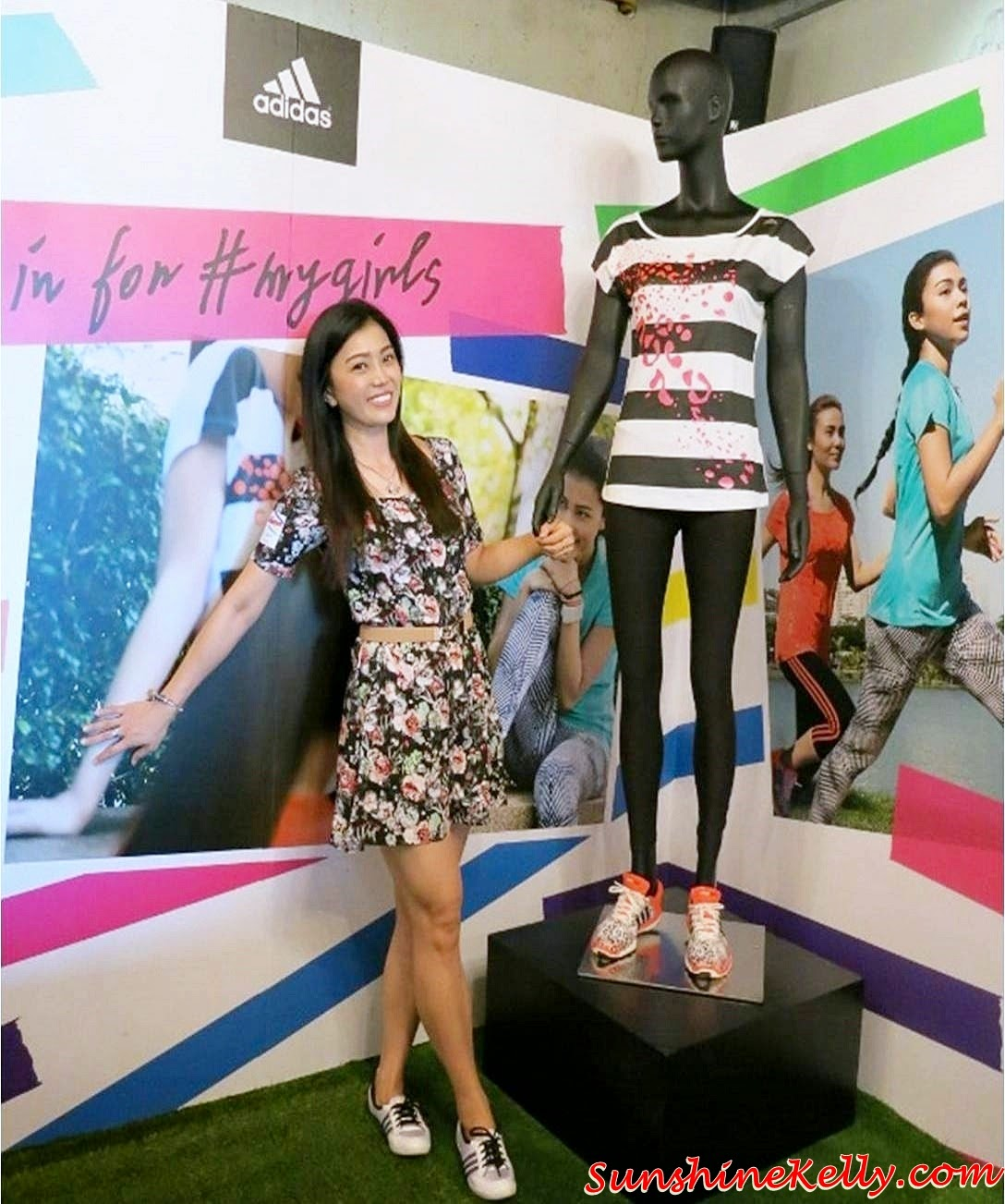 adidas #mygirls, adidas Women's Sports Performance Fall Winter 2014 Collection, adidas women sports, adidas women, adidas mygirls campaign, mygirls, sharifah sakinah, Atilia Haron, Sazzy Falak, Megan Tan, Elfira Loy