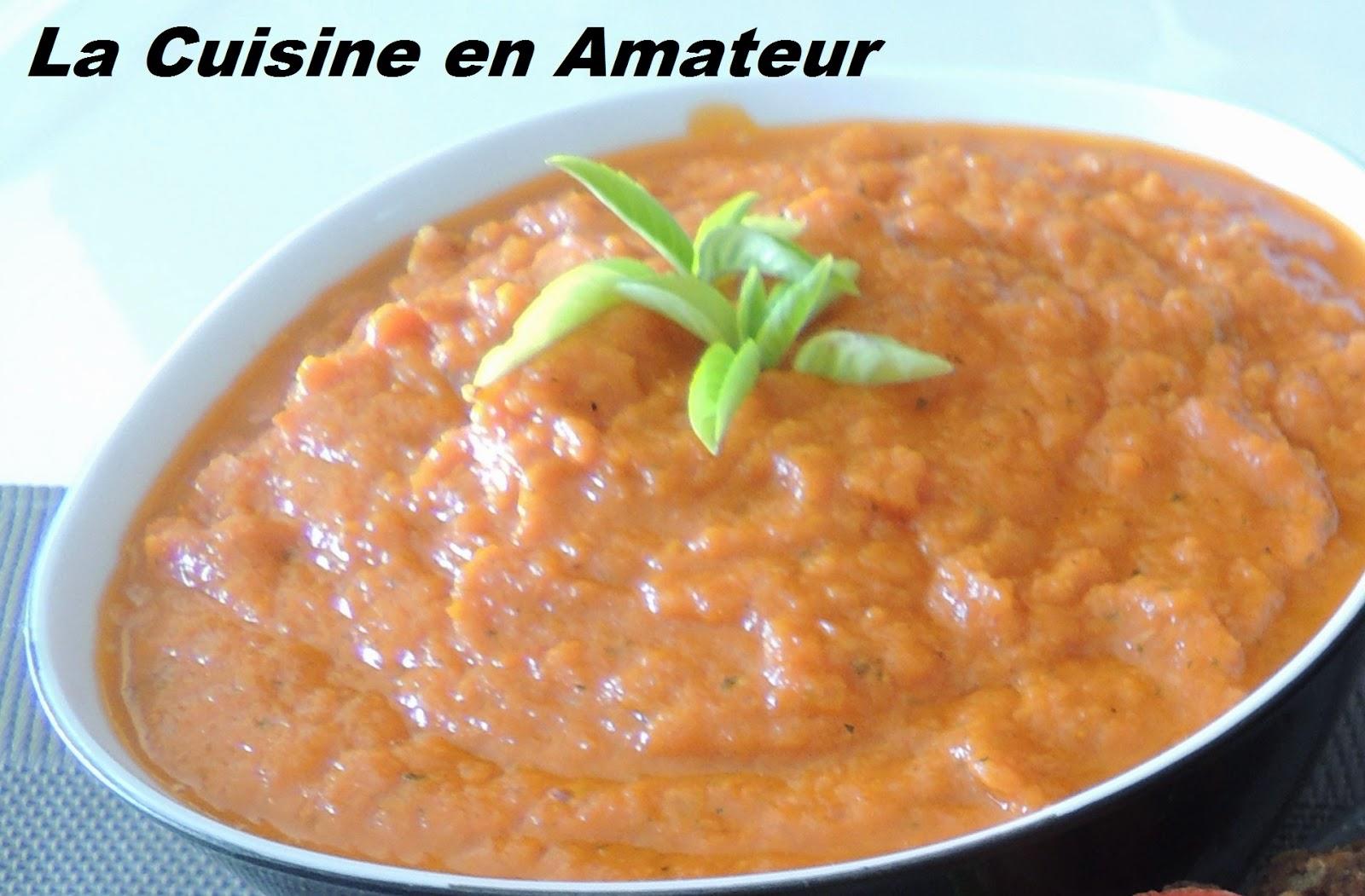 Sauce rouge dans le soup co blogs de cuisine - Recettes soup and co ...