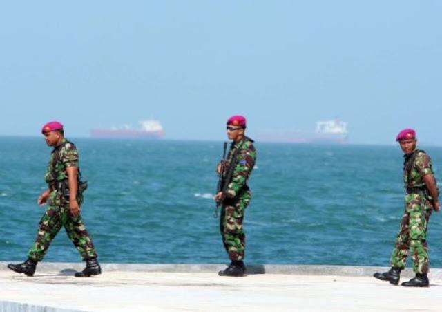 Marini Menjaga Pulau Terluar NKRI