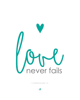LostBumblebee ©2015 MDBN : Love Never Fails : Printable : LLOP2015 : PERSONAL USE ONLY.