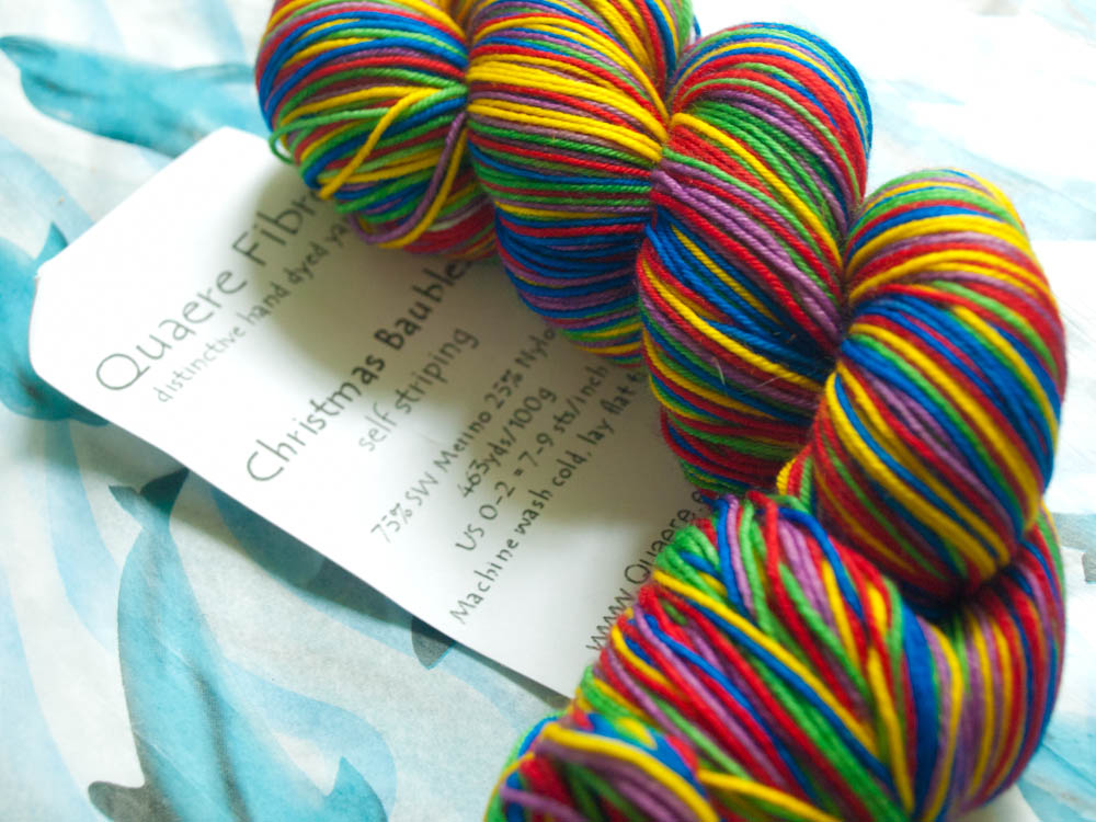 Yarn giveaway christmas in july