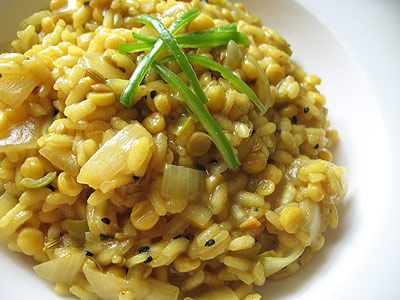 tamarind risotto kitcheree
